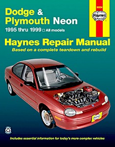 Boek: Chrysler / Dodge / Plymouth Neon (1995-1999) - Haynes Repair Manual