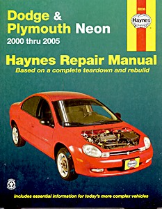Boek: Chrysler / Dodge / Plymouth Neon (2000-2005) - Haynes Repair Manual