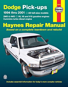 on Chilton Manual 2001 Dodge Dakota