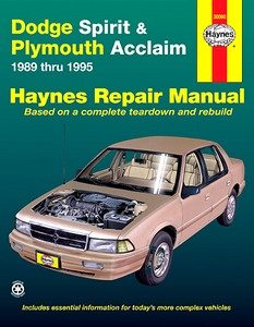 Boek: Plymouth Acclaim / Dodge Spirit (1989-1995) - Haynes Repair Manual