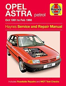 Opel revues techniques manuels datelier et beaux livres 13 livre opel astra petrol oct 1991 feb 1998 haynes service fandeluxe Images