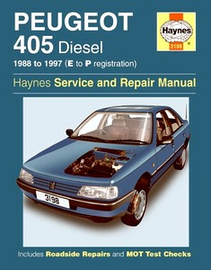 Boek: Peugeot 405 - Diesel (1988-1997) - Haynes Service and Repair Manual