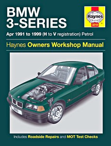 Boek: BMW 3-Series (E36) - 4-cyl & 6-cyl Petrol (April 1991-1999) - Haynes Service and Repair Manual