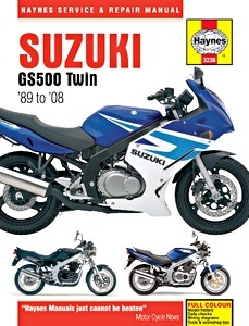 Livre : Suzuki GS 500 Twin (1989-2008) - Haynes Service and Repair Manual
