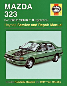Boek: Mazda 323 (Oct 1989 - 1998) - Haynes Service and Repair Manual
