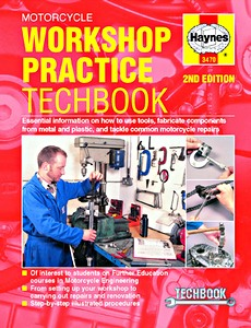 Livre : Haynes Motorcycle Workshop Practice TechBook