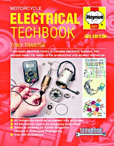 Livre : Haynes Motorcycle Electrical TechBook (3rd Edition) - From basic electrical theory to complex electronic systems