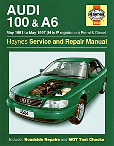 Boek: Audi 100 & A6 - Petrol & Diesel (May 1991 - May 1997) - Haynes Service and Repair Manual
