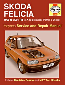 Boek: Skoda Felicia - Petrol & Diesel (1995-2001) - Haynes Service and Repair Manual