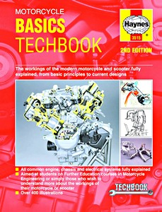 Livre : Haynes Motorcycle Basics TechBook (2nd Edition) - The workings of the modern motorcycle and scooter fully explained