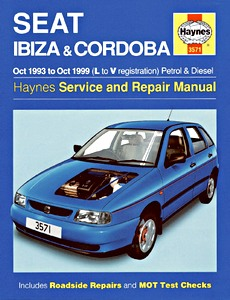 Boek: Seat Ibiza & Cordoba - Petrol & Diesel (Oct 1993 - Oct 1999) - Haynes Service and Repair Manual