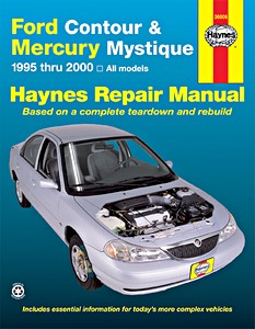 Boek: Mercury Mystique / Ford Contour - All models (1995-2000) - Haynes Repair Manual