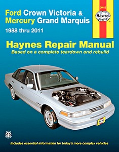 Boek: Mercury Grand Marquis / Ford Crown Victoria (1988-2011) - Haynes Repair Manual