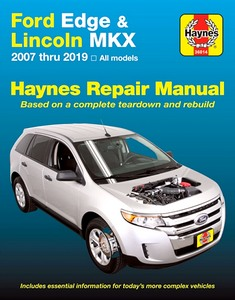 Livre : Ford Edge / Lincoln MKX (2007-2019) (USA) - Haynes Repair Manual