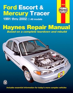 Boek: Mercury Tracer / Ford Escort (1991-2000) (USA) - Haynes Repair Manual