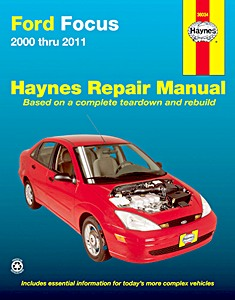 Boek: Ford Focus (2000-2011) (USA) - Haynes Repair Manual