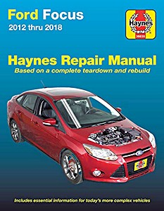 Boek: Ford Focus (2012-2014) - Haynes Repair Manual