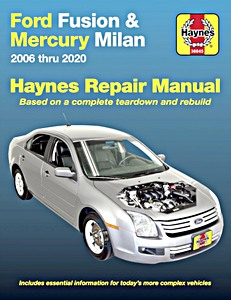 Boek: Mercury Milan / Ford Fusion (2006-2010) (USA) - Haynes Repair Manual