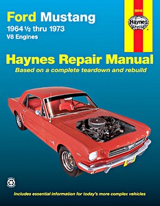Boek: Ford Mustang - V8 Engines (July 1964-1973) - Haynes Repair Manual