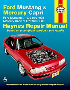 Boek: Mercury Capri (1979-1986) / Ford Mustang (1979-1993) - Haynes Repair Manual