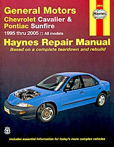 Boek: Chevrolet Cavalier & Pontiac Sunfire (1995-2005) - Haynes Repair Manual
