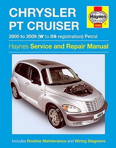 Boek: Chrysler PT Cruiser - Petrol (2000-2009) - Haynes Service and Repair Manual