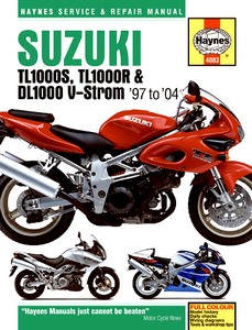 Livre : Suzuki TL 1000 S, TL 1000 R / DL 1000 V-Strom (1997-2004) - Haynes Service and Repair Manual