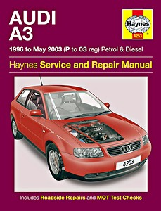 Boek: Audi A3 - Petrol & Diesel (1996 - May 2003) - Haynes Service and Repair Manual