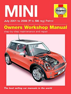 Boek: Mini - Petrol (July 2001 - 2006) - Haynes Service and Repair Manual