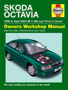 Boek: Skoda Octavia - Petrol & Diesel (1998 - April 2004) - Haynes Service and Repair Manual