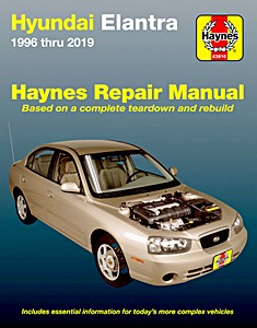 Boek: Hyundai Elantra / Lantra (1996-2019) (USA) - Haynes Repair Manual