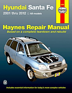 Livre : Hyundai Santa Fe - Gasoline Models (2001-2012) (USA) - Haynes Repair Manual