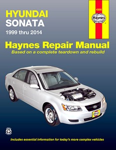 Boek: Hyundai Sonata (1999-2014) (USA) - Haynes Repair Manual