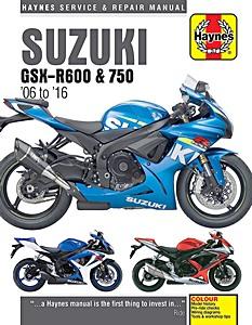 Suzuki Gsx R 750 2004 2010 Werkplaatshandboeken En border=