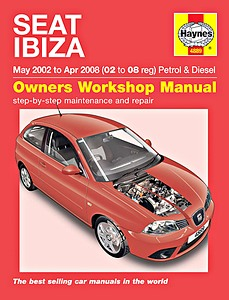 Boek: Seat Ibiza - Petrol & Diesel (May 2002 - April 2008) - Haynes Service and Repair Manual