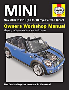 Boek: Mini - Petrol & Diesel (11/2006-2013) - Haynes Service and Repair Manual