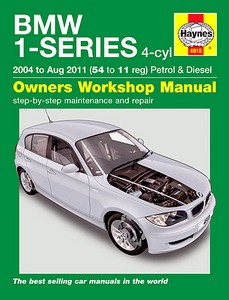 Boek: BMW 1 Series (E81, E82, E87) - 4-cylinder Petrol & Diesel (2004 - Aug 2011) - Haynes Service and Repair Manual