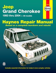 Livre : Jeep Grand Cherokee (1993-2004) - Haynes Repair Manual