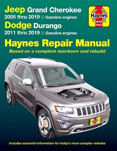 Livre : Jeep Grand Cherokee (2005-2019) / Dodge Durango (2011-2019) - Gasoline engines - Haynes Repair Manual