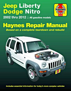 Livre : Jeep Cherokee (Liberty) / Dodge Nitro (2002-2012) - All gasoline models - Haynes Repair Manual