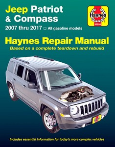 Livre : Jeep Patriot & Compass - All gasoline engines (2007-2017) - Haynes Repair Manual
