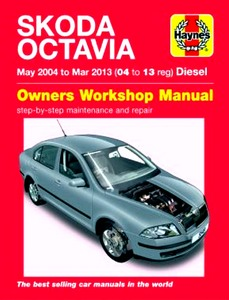 Boek: Skoda Octavia - Diesel (May 2004 - Mar 2013) - Haynes Service and Repair Manual