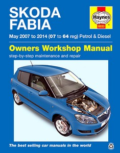 Boek: Skoda Fabia II - Petrol & Diesel (May 2007 - 2014) - Haynes Service and Repair Manual