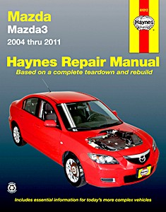Boek: Mazda 3 (2004-2011) (USA) - Haynes Repair Manual