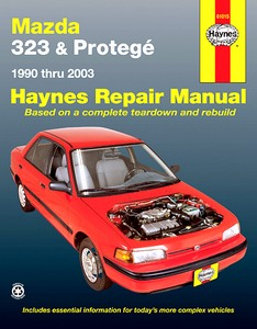 Boek: Mazda 323 and Protegé (1990-2000) (USA) - Haynes Repair Manual