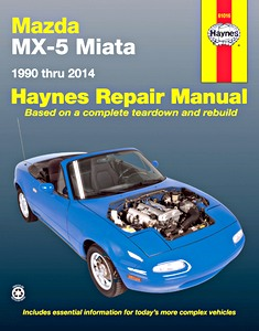 Boek: Mazda MX-5 Miata (1990-2014) (USA) - Haynes Repair Manual