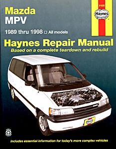 Boek: Mazda MPV (1989-1994) (USA) - Haynes Repair Manual