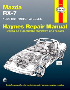 Boek: Mazda RX-7 Rotary (1979-1985) (USA) - Haynes Repair Manual