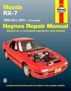 Boek: Mazda RX-7 Rotary (1986-1991) (USA) - Haynes Repair Manual