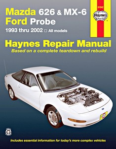 Boek: Mazda 626 & MX-6 / Ford Probe (1993-2001) (USA) - Haynes Repair Manual